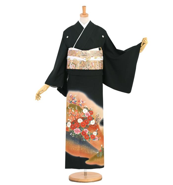 黒留袖 No.CA-1446-Sサイズ
