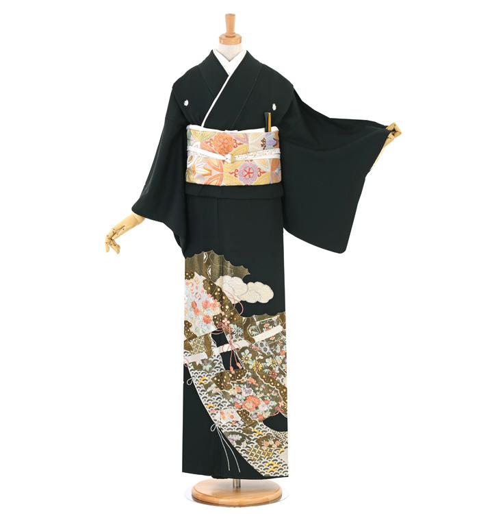 総刺繍 黒留袖 No.CA-1531-Sサイズ