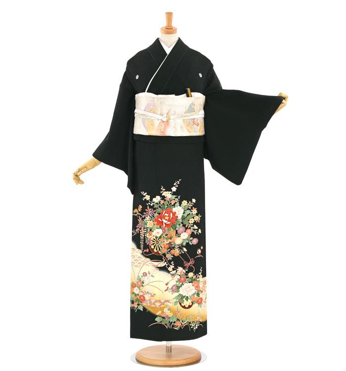 黒留袖 No.CA-1545-Sサイズ