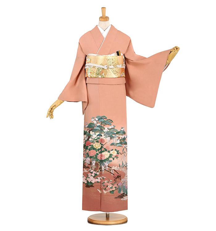 蘇州刺繍 色留袖 No.DA-0833-Lサイズ