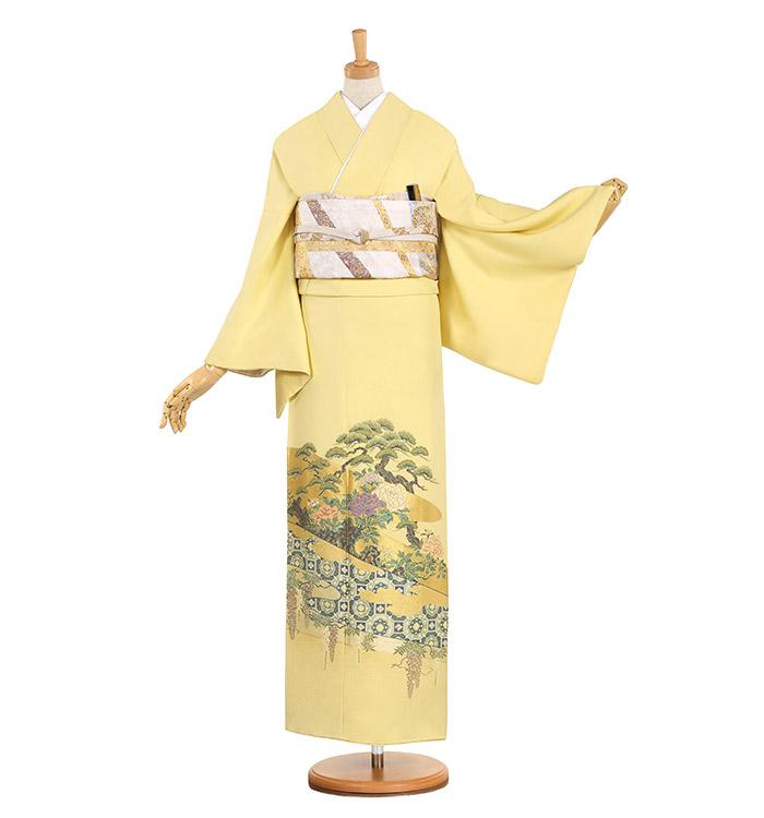 縫い取り 色留袖 No.DA-0853-Lサイズ