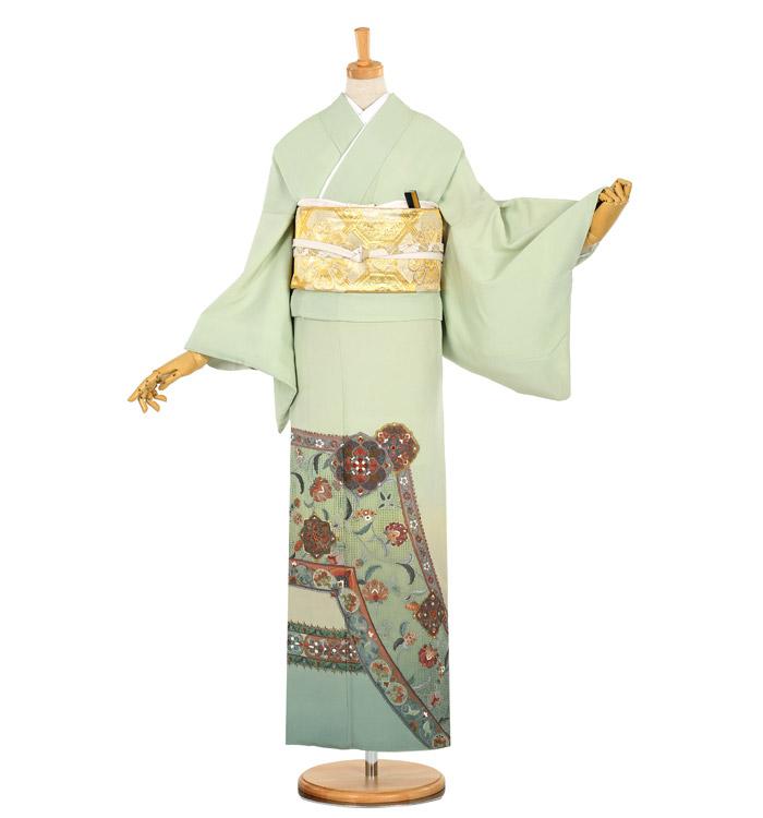 総刺繍 色留袖 No.DA-0862-Lサイズ