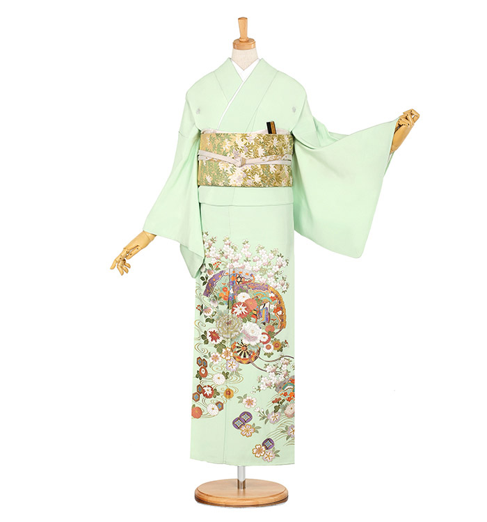 関芳 五つ紋色留袖 No.DA-0885-M