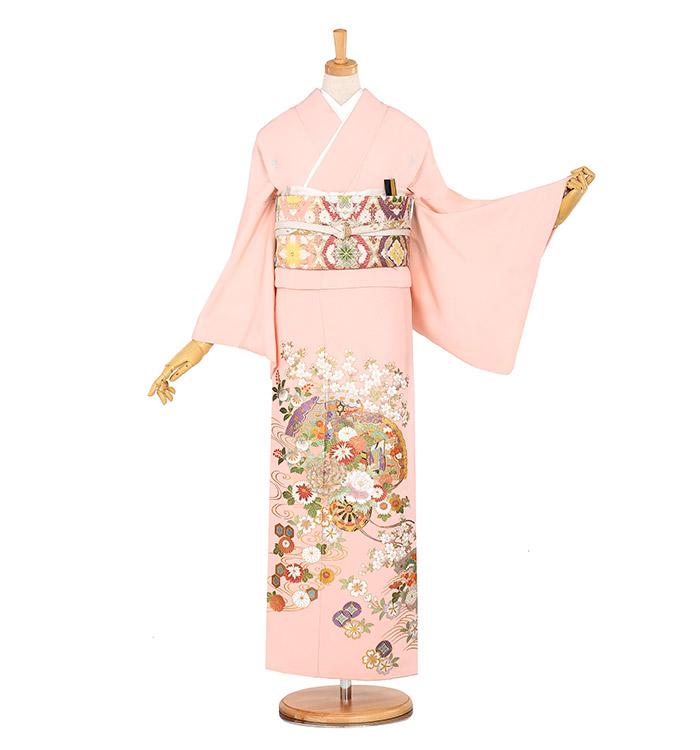 関芳 五つ紋色留袖 No.DA-0886-M