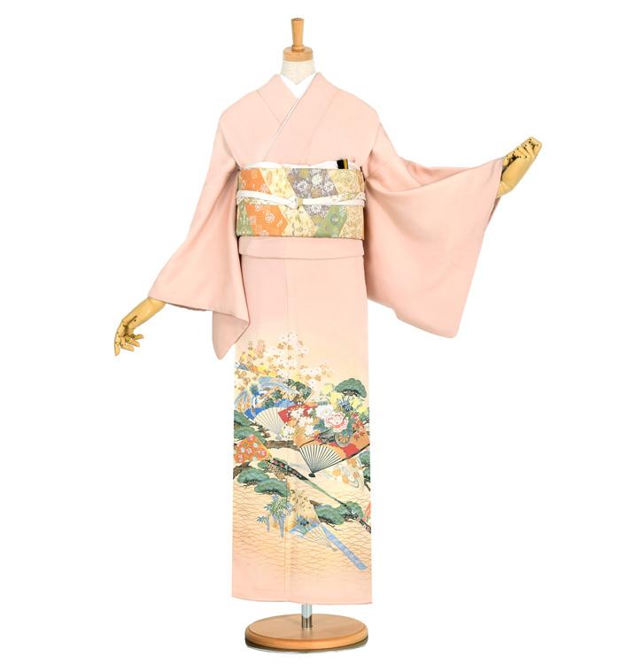 寿光織 色留袖 No.DA-0929-Mサイズ