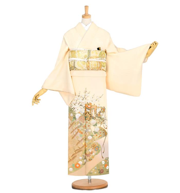桂由美 色留袖 No.DA-0933-Mサイズ