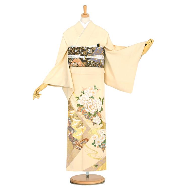 桂由美 色留袖 No.DA-0935-Mサイズ