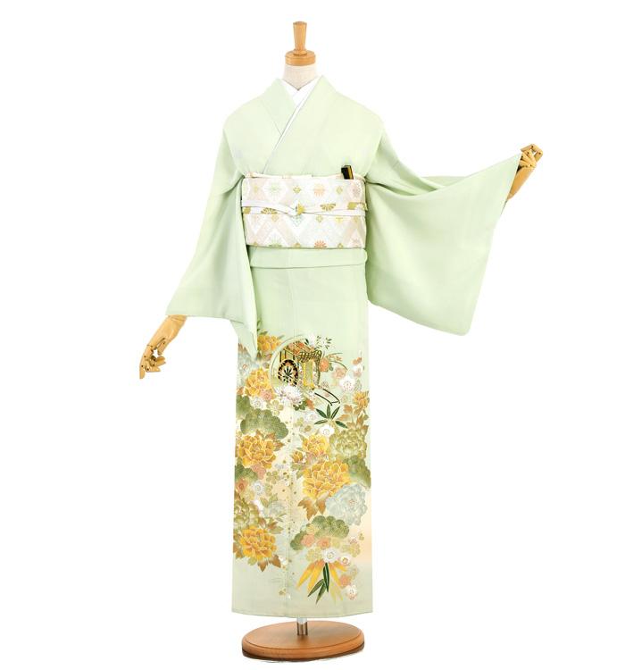 桂由美 五つ紋色留袖 No.DA-0954-L