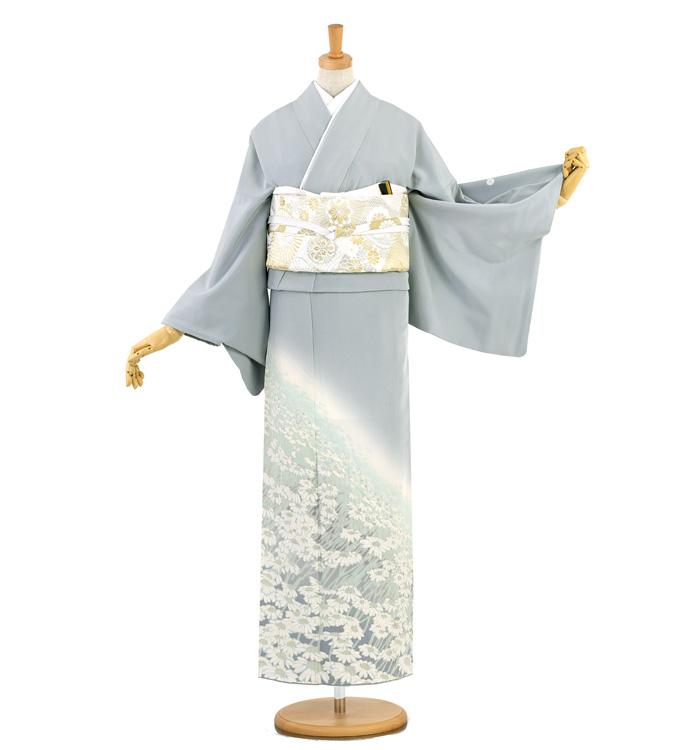 滝泰 おぼろ染め 色留袖 No.DA-1002-Lサイズ