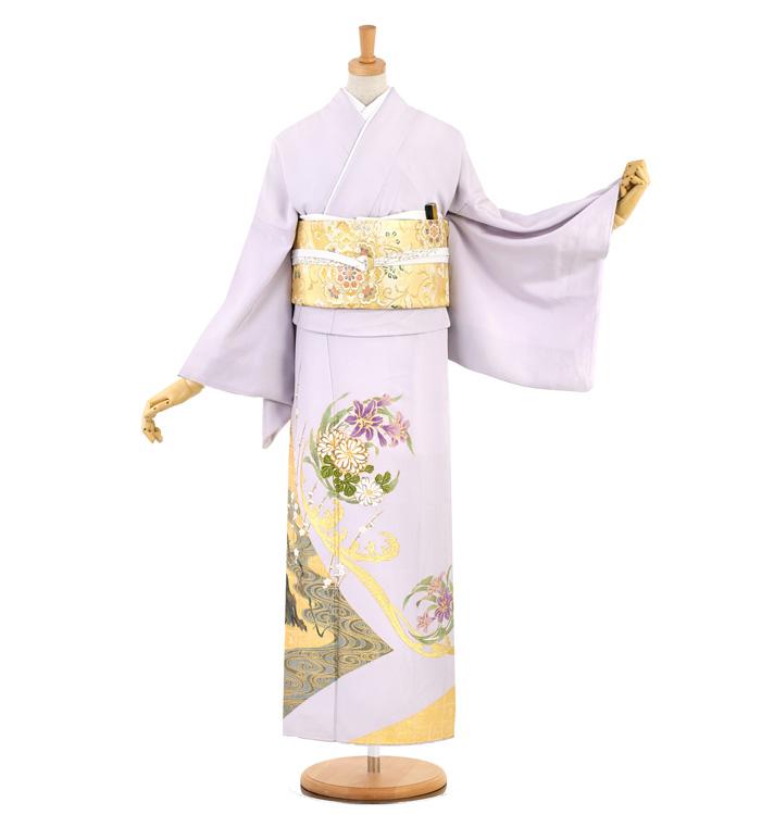 桂由美 大きいサイズ 色留袖 No.DA-1003-LO