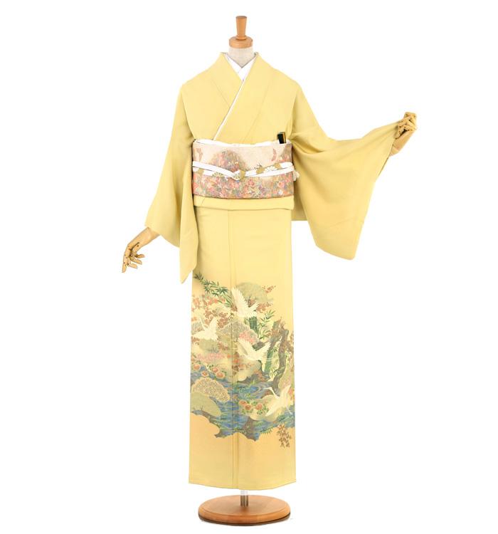縫い取り 色留袖 No.DA-1018-Mサイズ