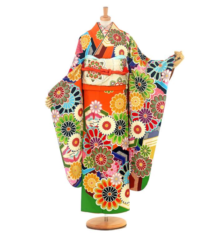 JAPAN STYLE 振袖 No.EE-1499-Lサイズ/○
