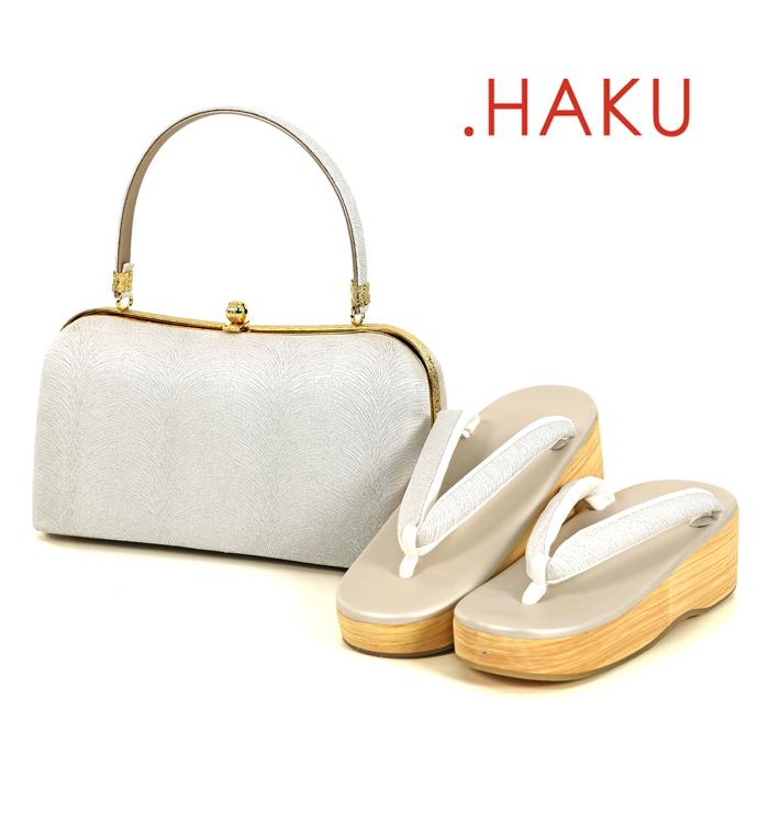 .HAKU 高級草履バッグ-Lサイズ No.ZA-6359-03