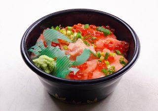 サーモン丼|北の弁当工房 かな(金歳堂)