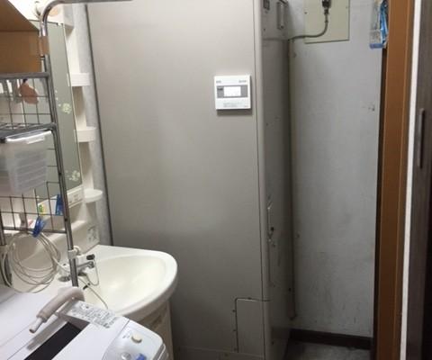 温水器からエコキュートへの取り換え(恵庭市Mさま) - 施工後 | 千歳日成暖房(株)