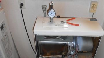 暖房エコフィールへの取り換え(千歳市Wさま) - 施工前 | 千歳日成暖房(株)