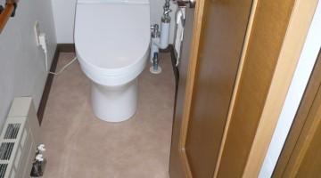 トイレのリフォーム(恵庭市Kさま) - 施工後 | 千歳日成暖房(株)