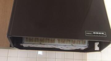 レンジフード・クッキングヒーターの取り換え(千歳市Yさま) - 施工前 | 千歳日成暖房(株)