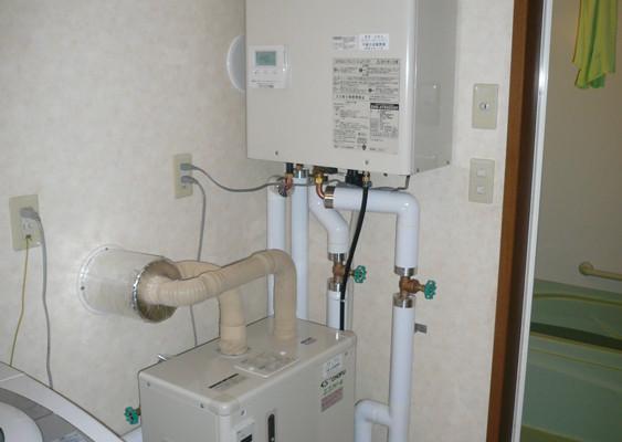 給湯・暖房ボイラーの取り換え(千歳市Nさま) - 施工後 | 千歳日成暖房(株)
