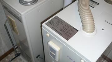 給湯・暖房ボイラーの取り換え(千歳市Sさま) - 施工前 | 千歳日成暖房(株)