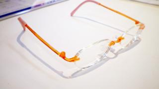 こちらのメガネフレームはキッズデザイン賞を受賞しているんです!