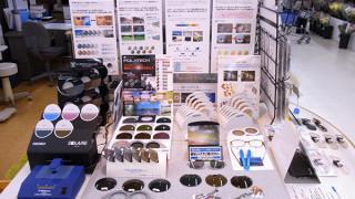ステイ店レンズ体験コーナー(4)偏光レンズ