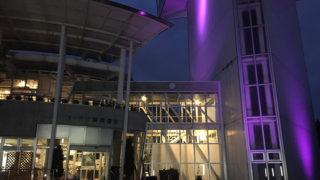緑ヶ丘公園展望台のライトアップ