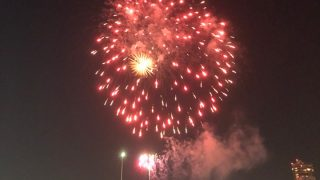 豊平川の花火大会