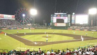 またまた野球を見に行きました。
