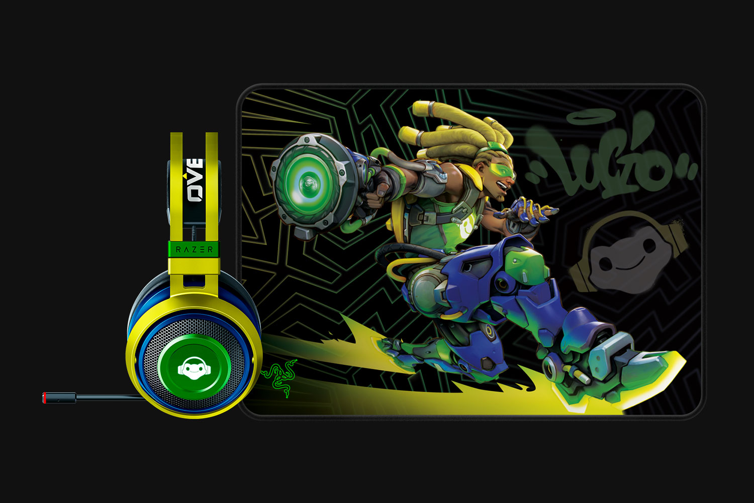 Headset of Lucio from Razer、Mouse pad is released in 11/29!&OW device Summary