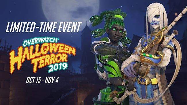 Over watch Halloween Event!