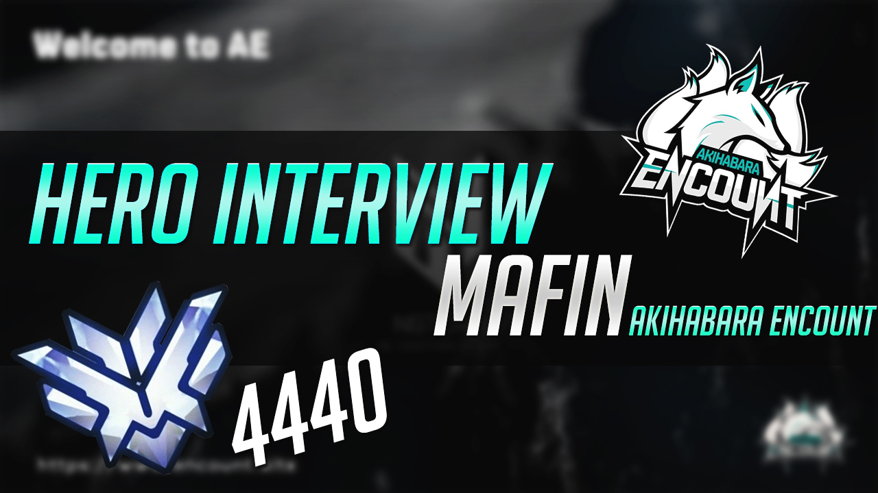 The highest rate 4440!!Interview AKIHABARA ENCOUNT belongs Mafin player! Arekore of DPS