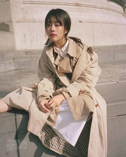 """高畑充希 on Instagram: """"パリの古着屋さんでの衣装選びも街中での撮影も、編集長とのおしゃべりも。楽しくって楽しくって、終わらないでーって。まだまだお気に入りの写真が沢山。あああ、またやりたいなあ、@ginzamagazine にて。ぜひミテクダサイ☺︎♡"""" (608717)"""
