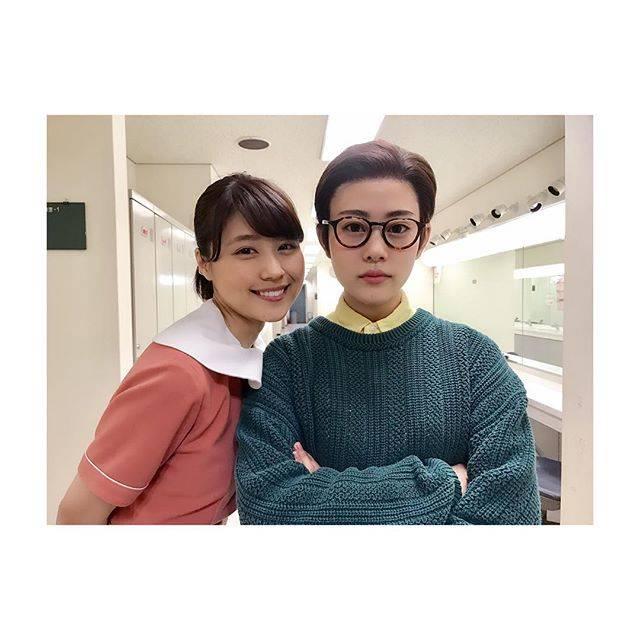 """高畑充希 on Instagram: """"久々の娘とのツーショットに、照れてうまく笑えない父。#という裏設定#おげんさんといっしょ #みね子さんともいっしょ#みね子さんとちっちゃいおっさん"""" (608719)"""