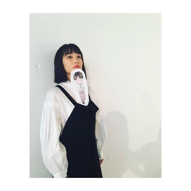 """広瀬すず on Instagram: """"伊藤先生ちっちゃくなってました#先生!  #好きになってもいいですか"""" (620792)"""