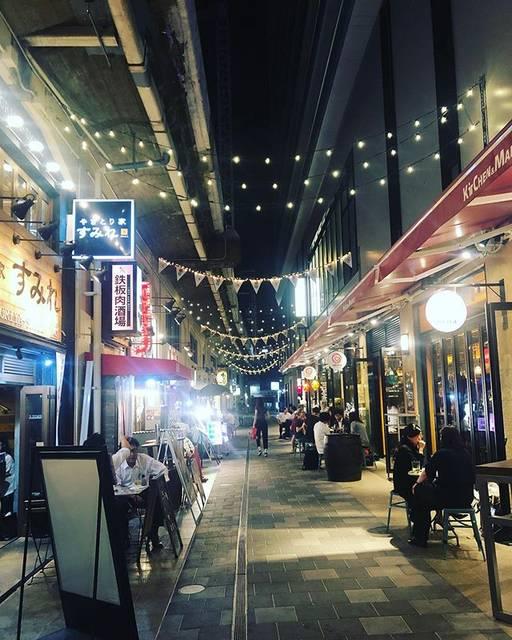 "Giulia's Instagram profile post: ""City Lights..#osaka #nights #trasferte #thinkingnights #whenyourlifeisamess #savemefrommyself #japanlandscape #大阪 #福岡駅"" (880990)"