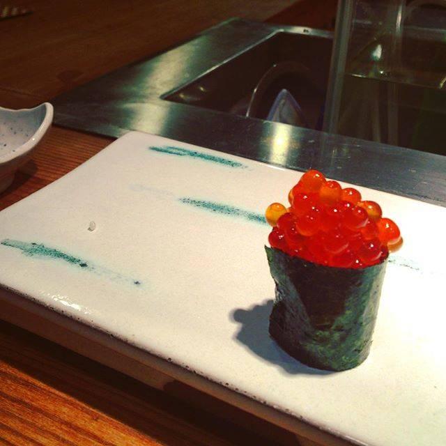 """がーさわ on Instagram: """"イクラちゃん大好きさ!#海晴れ  #けやき通り海晴れ  #赤坂  #寿司  #sushi  #🍣 #fukuoka  #福岡  #fukuokagourmet  #福岡グルメ"""" (883601)"""