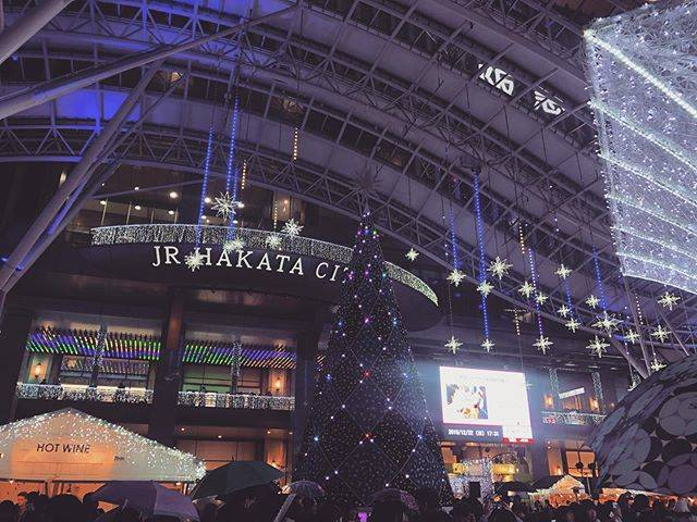"𝙰𝙺𝚁❤︎ on Instagram: ""クリスマス前の博多駅🎄♡ ..#クリスマス#博多駅#博多駅イルミネーション #博多 #福岡"" (886112)"