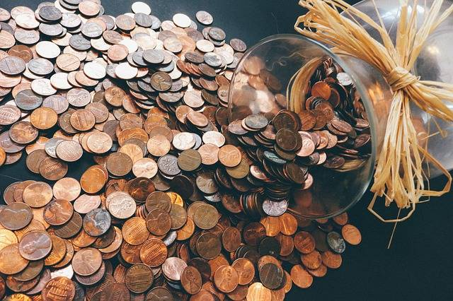 Coins Pennies Money · Free photo on Pixabay (33385)