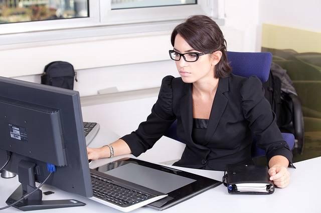 Secretary Used Glasses Beautiful · Free photo on Pixabay (48245)