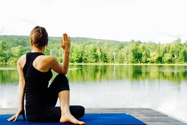 Yoga Woman Nature · Free photo on Pixabay (48782)