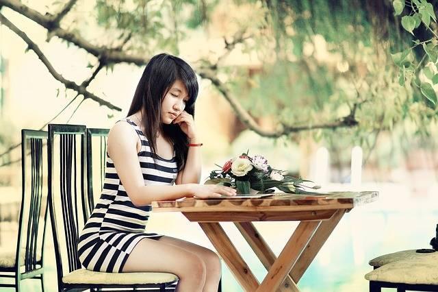 Girl Think Woman · Free photo on Pixabay (56739)