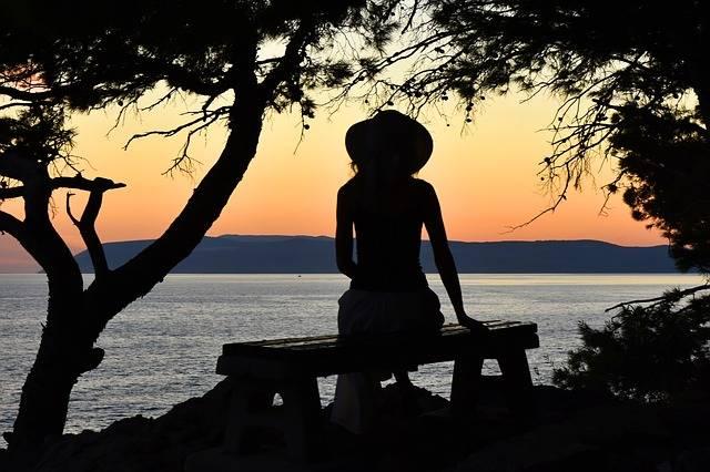 Woman Sunset Silhouette · Free photo on Pixabay (66096)