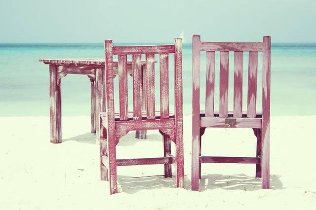 Beach Chairs Sea · Free photo on Pixabay (68126)