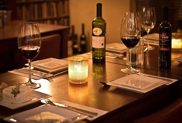 Bistro Wine Romantic - Free photo on Pixabay (110047)