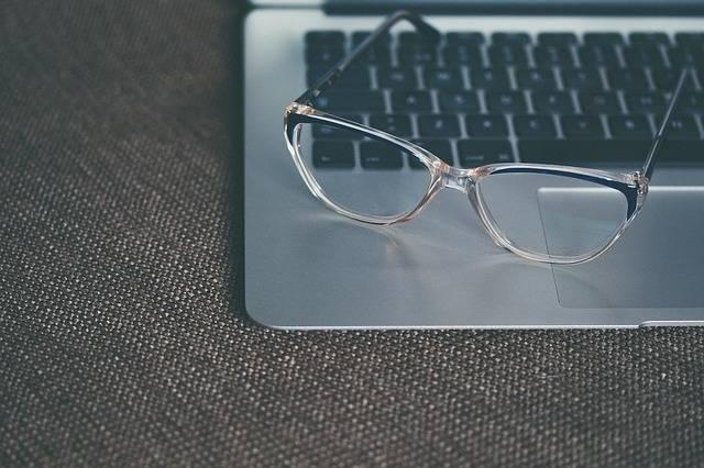 Eyeglasses Glasses Keyboard - Free photo on Pixabay (125481)