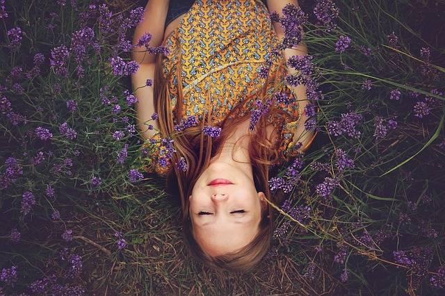 Girl Lavender Asleep - Free photo on Pixabay (149455)