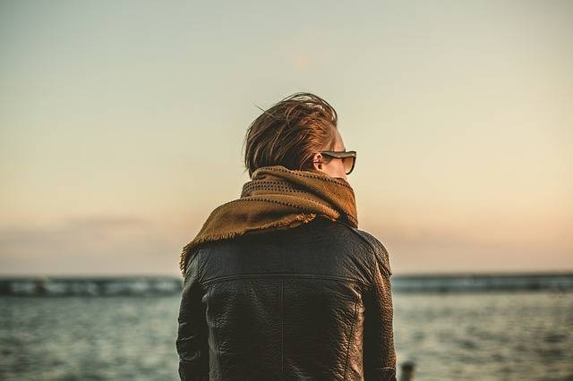 Leather Jacket Scarf Sunglasses - Free photo on Pixabay (164245)
