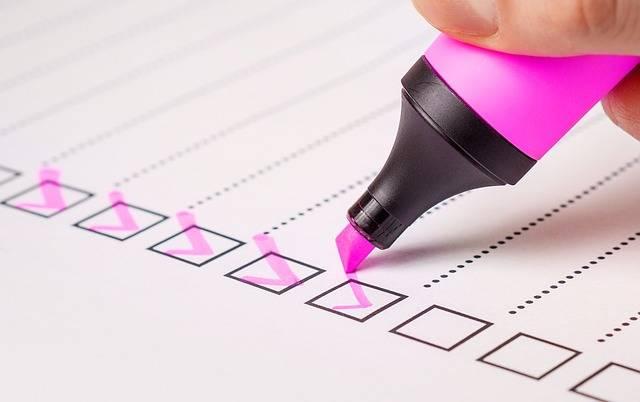 Checklist Check List - Free photo on Pixabay (164248)