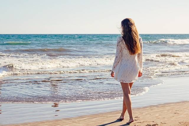 Young Woman Sea - Free photo on Pixabay (174924)